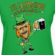leprechaun Women's T-Shirts
