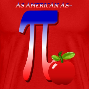 All American Pi - Men's Premium T-Shirt