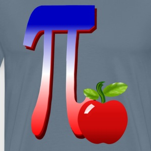 All American Pi-plain - Men's Premium T-Shirt