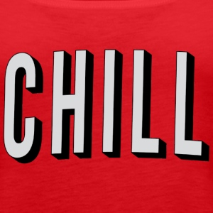 Netflix & Chill Tank - Women's Premium Tank Top