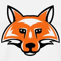 fox_head_simple_2c T-Shirts
