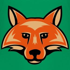 fox_head_simple_3c Kids' Shirts - Kids' Premium T-Shirt