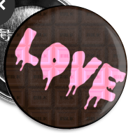 Design ~ Love Chocolate Button