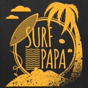 Surf Papa Bags & backpacks - Tote Bag