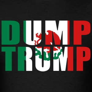 Dump Trump Mexican Flag - Men's T-Shirt