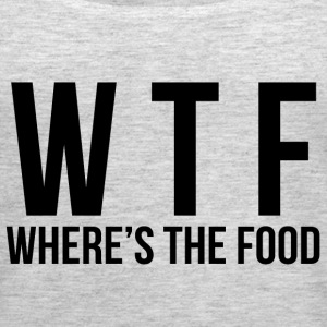 WTF - Where's The Food Tanks - Women's Premium Tank Top
