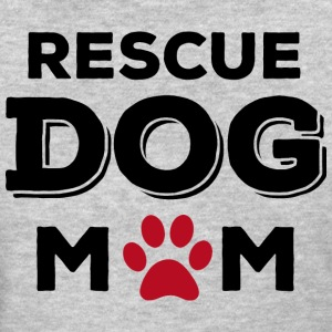 Rescue Dog Mom Women's T-Shirts - Women's T-Shirt