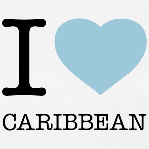 I LOVE CARIBBEAN - Women's T-Shirt