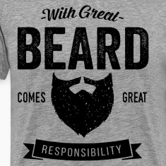 With Great Beard T-Shirts