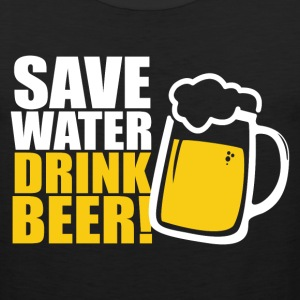Save Water Drink Beer Sportswear - Men's Premium Tank