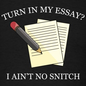 the no snitching act essay Disclaimer: free essays on ethics and law posted on this site were donated by anonymous users and are provided for informational use only the free ethics and law research paper (whistle blowing essay) presented on this page should not be viewed as a sample of our on-line writing service.