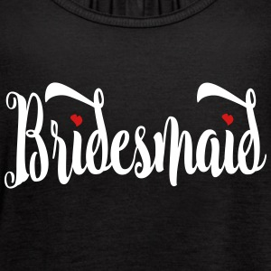 Bridesmaid Script Tanks - Women's Flowy Tank Top by Bella