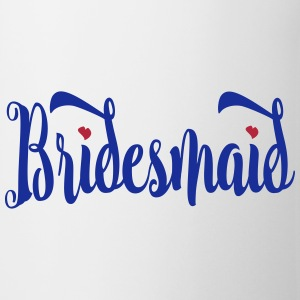 Bridesmaid Script Mugs & Drinkware - Coffee/Tea Mug