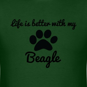 Beagle T-Shirts - Men's T-Shirt