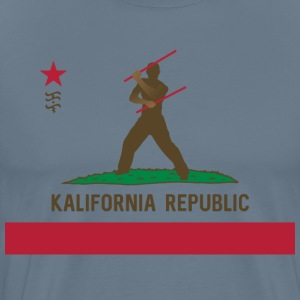 Kalifornia Republic Kali Silat Filipino Martial Ar - Men's Premium T-Shirt