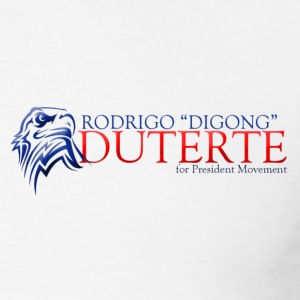 Duterte for President 1 T-Shirts - Men's T-Shirt