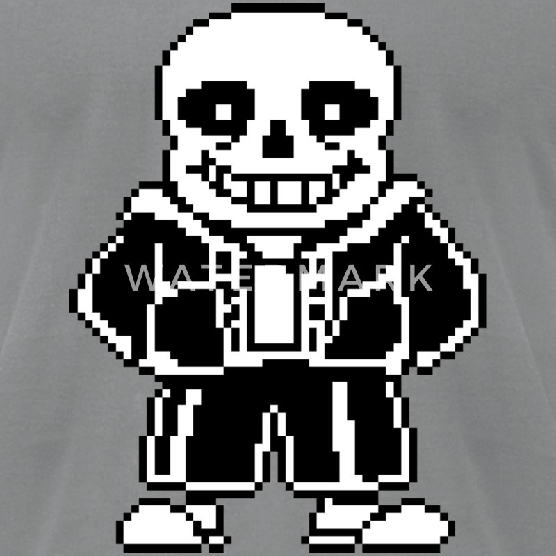 Sans Undertale T-Shirt - Men's T-Shirt by American Apparel