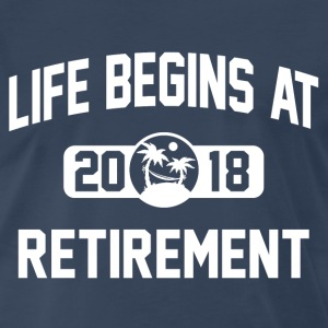 Retirement 2018 T-Shirts - Men's Premium T-Shirt