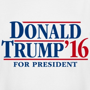 Donald Trump '16 for president - Men's Tall T-Shirt