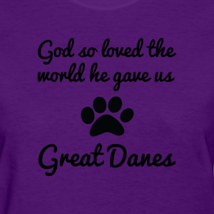 great danes Women's T-Shirts - Women's T-Shirt