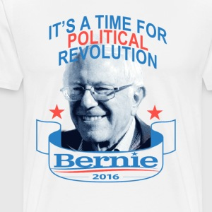 time_for_revolution_bernie_sanders - Men's Premium T-Shirt