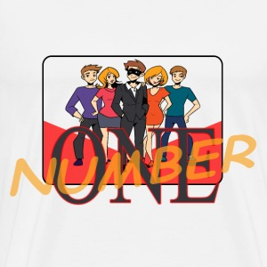 Number One - Men's Premium T-Shirt