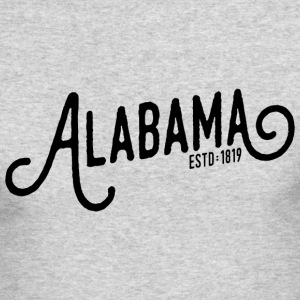 Alabama Script - Men's Long Sleeve T-Shirt by Next Level