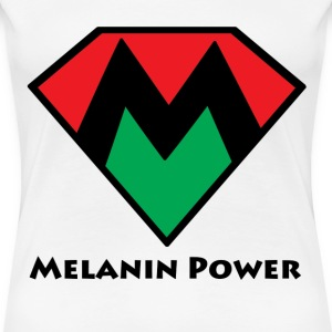 Melanin Power Women's Tee - Women's Premium T-Shirt