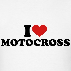 I love Motocross T-Shirts - Men's T-Shirt