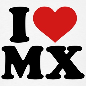 I love MX T-Shirts - Men's T-Shirt