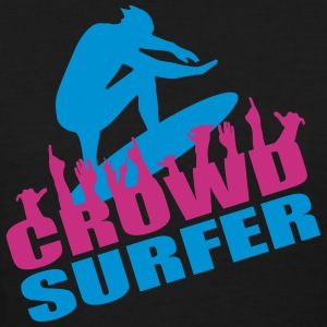 crowd surfer - Women's T-Shirt