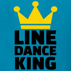 Line dance King Kids' Shirts - Kids' T-Shirt