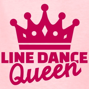 Line dance Queen Kids' Shirts - Kids' T-Shirt