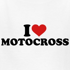 I love Motocross Kids' Shirts - Kids' T-Shirt