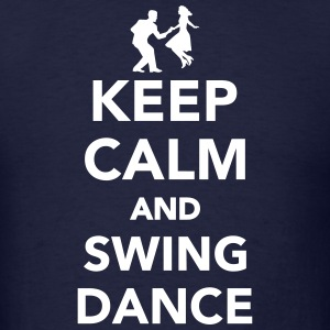 Keep calm and Swing dance T-Shirts - Men's T-Shirt
