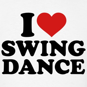 I love Swing dance T-Shirts - Men's T-Shirt