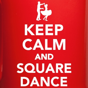Keep calm and square dance Mugs & Drinkware - Full Color Mug