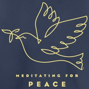 Meditating for Peace - Kids' Premium T-Shirt