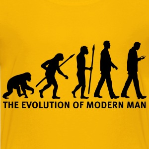 evolution_of_man_smartphone03_1c Kids' Shirts - Kids' Premium T-Shirt