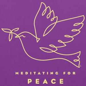 Meditating for Peace Bags & backpacks - Tote Bag