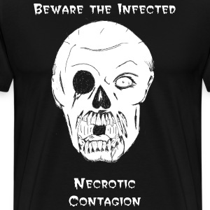 Necrotic Contagion Infected Tee - Men's Premium T-Shirt