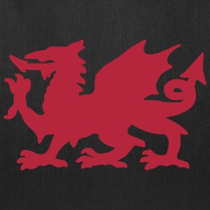 Welsh Dragon Bags & backpacks - Tote Bag