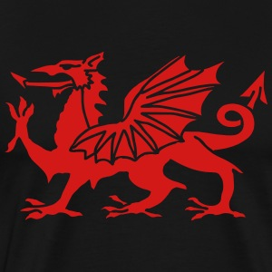 Welsh Dragon T-Shirts - Men's Premium T-Shirt