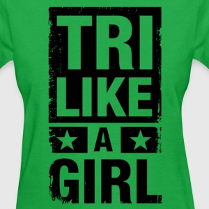 Tri Like a Girl Women's T-Shirts - Women's T-Shirt