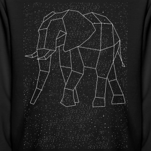 Elephant Constellation Kids' Shirts - Kids' Long Sleeve T-Shirt