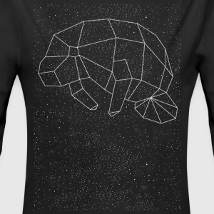 Manatee Constellation Baby Bodysuits - Long Sleeve Baby Bodysuit