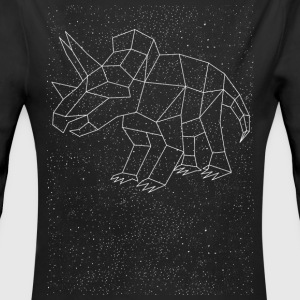 Triceratops Constellation Baby Bodysuits - Long Sleeve Baby Bodysuit