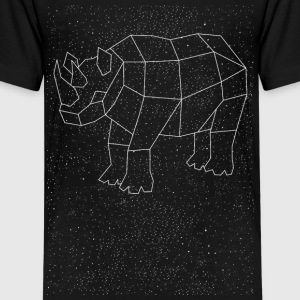Rhino Constellation Kids' Shirts - Kids' Premium T-Shirt