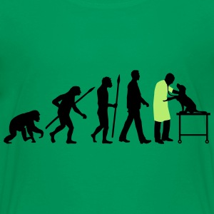 evolution_of_man_tierarzt03_2c Kids' Shirts - Kids' Premium T-Shirt