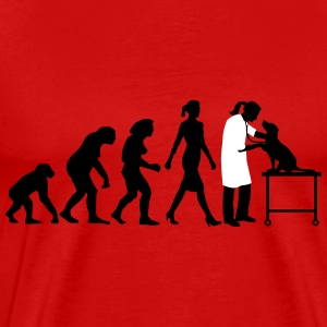 evolution_of_woman_tierarztin03_2c T-Shirts - Men's Premium T-Shirt